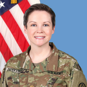 Sarah Easter Strayer US Army photo